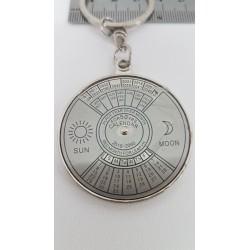Raktų pakabukas, metalinis (50 metų kalendorius)
