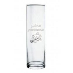 Stiklinė vaza Flora