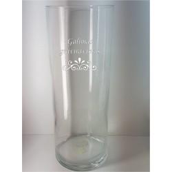 Stiklinė vaza CILINDRAS