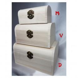 Dėžutė natūralaus medžio 3 in 1