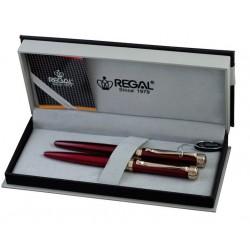 """Rašiklių rinkinys """"Charles red"""" dėžutėje 35-501 REGAL"""